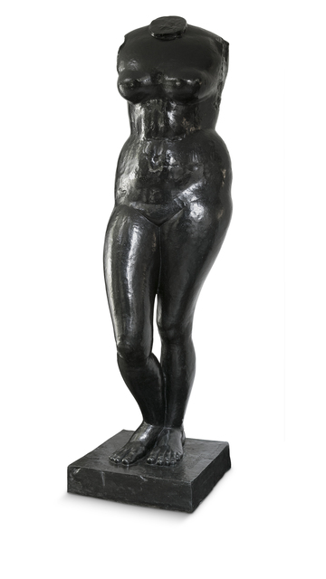 , 'Grande torso feminino,' ca. 1939, Pinakotheke