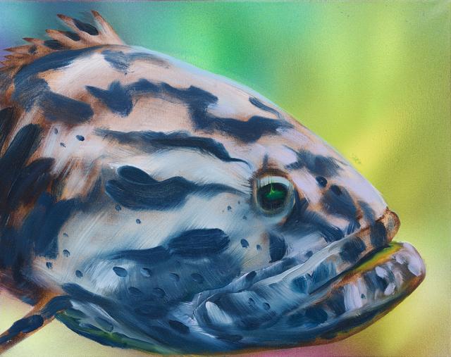 , 'Striped Grouper,' 2016, Rosamund Felsen Gallery