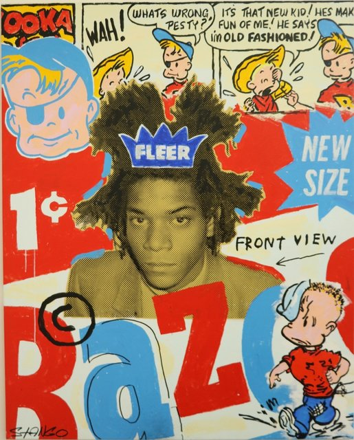 , 'Bazooka and Basquiat,' , Bruce Lurie Gallery