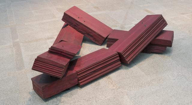 , 'Mar rojo,' 1988, Maisterravalbuena