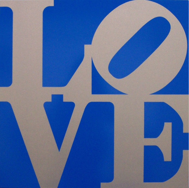 , 'Book of LOVE (Silver/Blue),' 1996, Rosenbaum Contemporary