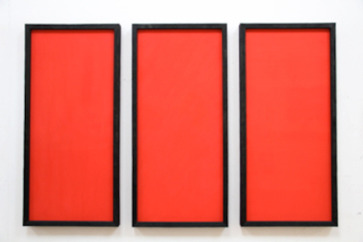 , 'Three Reds - Three Directions,' 2014, Annely Juda Fine Art