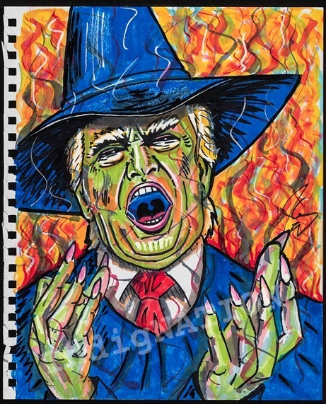 Jim Carrey, 'The Wicked Witch of the West Wing', 2018, Maccarone