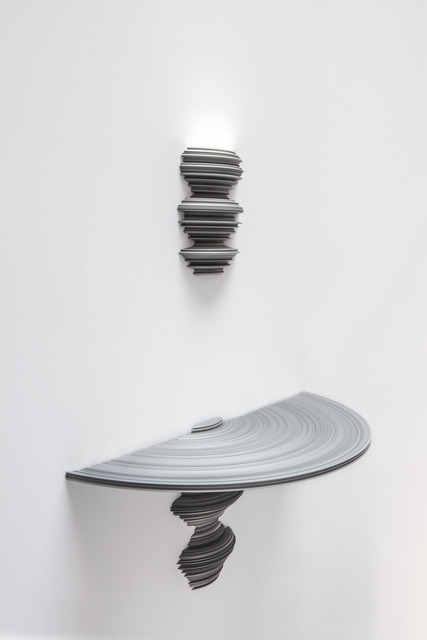 , 'Lathe Sconce & Console (Small Silver),' 2013, Carpenters Workshop Gallery