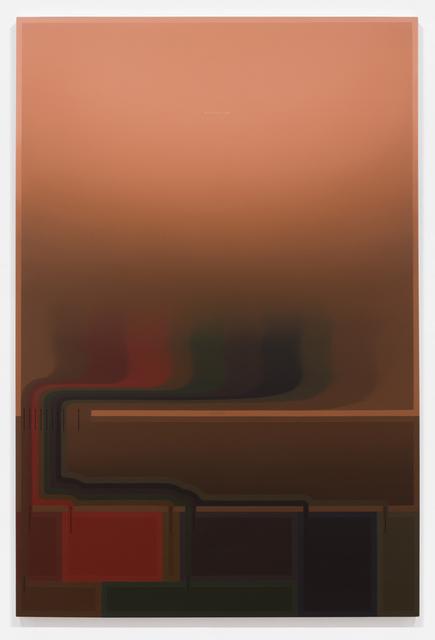 , 'Incoming Flux II,' 2014, Luis De Jesus Los Angeles