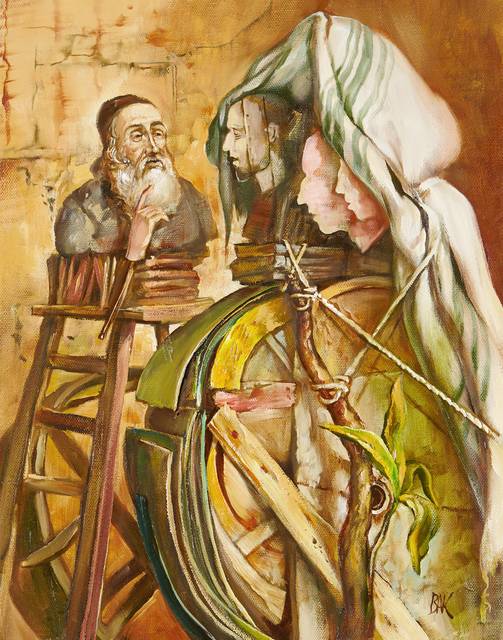 Samuel Bak, 'Lecturer', 2015, Painting, Oil on canvas, Pucker Gallery