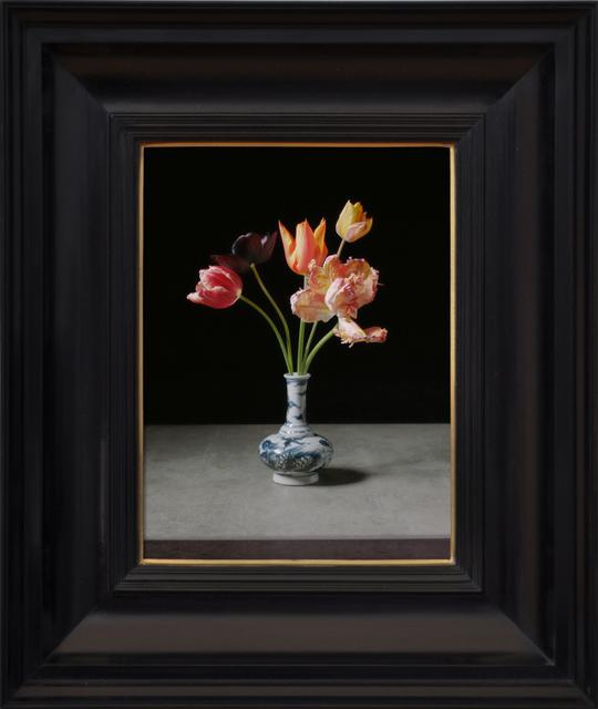 , 'Transforming Five Tulips in a Wan-Li Vase,' 2017, Ben Brown Fine Arts