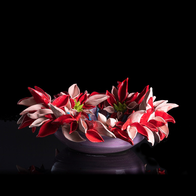 , 'Pink and Red Flower Anenome,' 2018, Art Salon