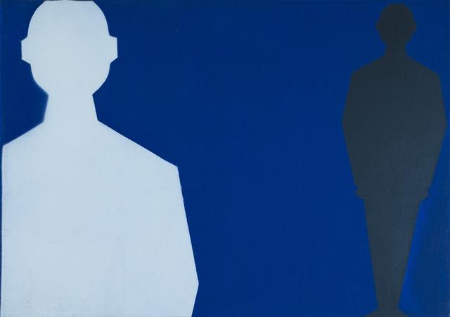 , 'Uomini Statistici,' 1962, Erica Ravenna Fiorentini Arte Contemporanea