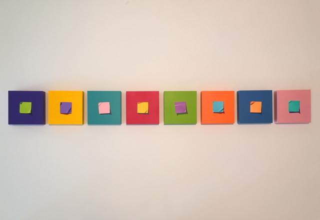 Otto Duecker, 'Post It Series', 2019, M.A. Doran Gallery