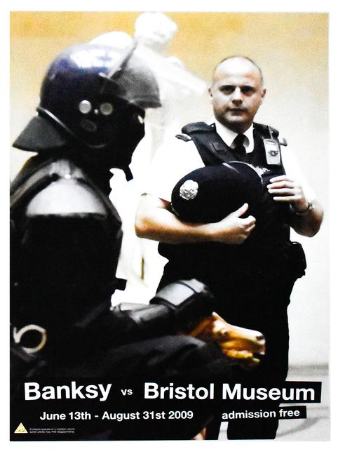 Banksy, 'COPPER (Banksy Vs. Bristol Museum)', 2009, Silverback Gallery