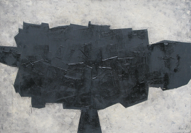 , 'Black Form,' 1956, Whitford Fine Art