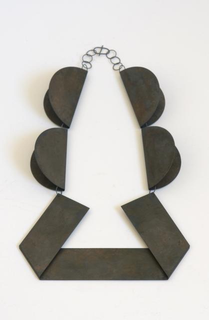 , 'Collier 4 Circles (black),' 2016, Galerie Rosemarie Jäger
