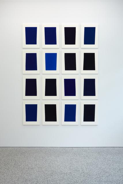 , '16 Shades of Blue (Y Series),' 2016, BERG Contemporary