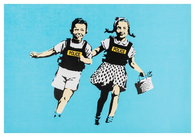 Banksy, 'Jack and Jill (Police Kids)', 2005, Forum Auctions