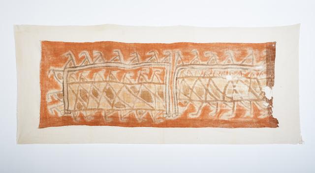 , 'Chancay Large Painted Cotton Textile,' c. 1000-1425 AD, Stuart & Co. Gallery