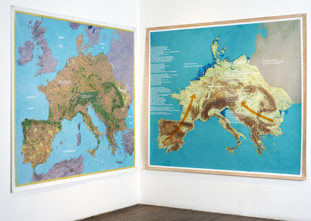 , 'Peninsula Europe: The Force Majeur,' 2014, Ronald Feldman Gallery