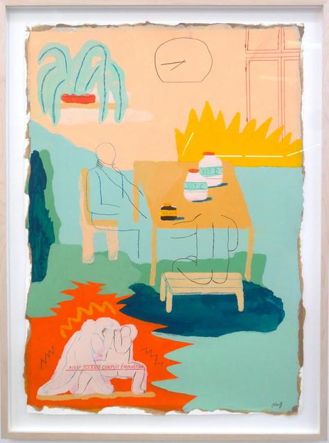 Marion Jdanoff, 'Conflit Energétique', 2018, Urban Spree Galerie