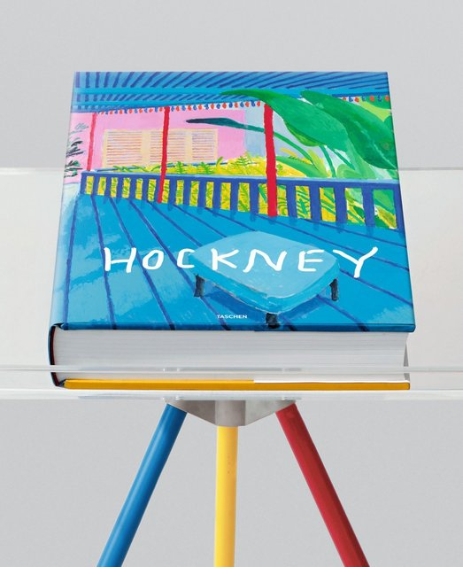 , 'David Hockney 'A Bigger Book' Hand Signed Taschen Sumo with Marc Newson Bookstand,' 2016, Mr & Mrs Clark's