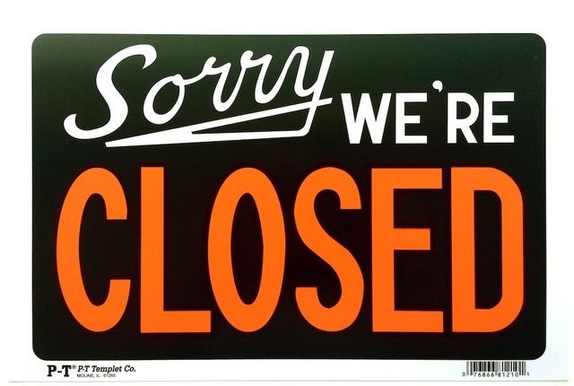 Adam McEwen, 'Sorry, We're Closed', 2012, New Art Editions