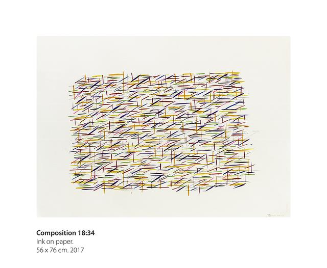 , 'Composition 18:34,' 2017, Dan Galeria