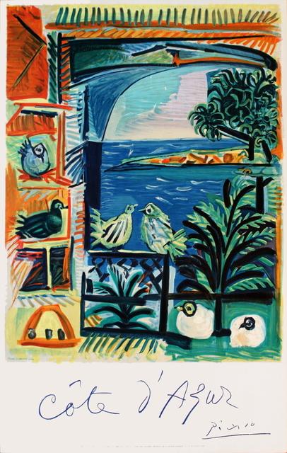 Pablo Picasso, 'Cote D'Azur', 1962, Print, Lithograph, ArtWise