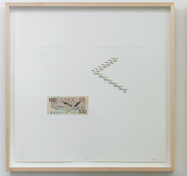, 'Geese in Flight I,' 2017, MKG127