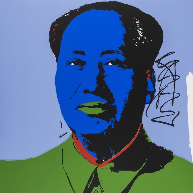 Andy Warhol, 'Mao (Sunday B. Morning)', Print, The complete set of ten silkscreens printed in colours, Forum Auctions