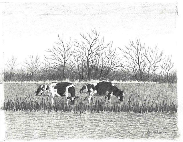 Rolland Golden, 'Winter Feeding Ground ', ca. 1990, Mac-Gryder Gallery