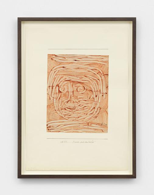 """, 'Maske """"nach dem Verlust"""" (Mask: After the Loss),' 1938, David Zwirner"""