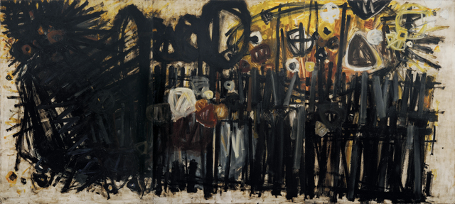 Stanislaus Rapotec, 'Meditating on Good Friday', 1961, Charles Nodrum Gallery
