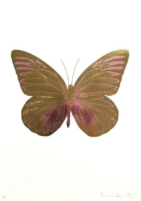 Damien Hirst, 'The Souls I - Oriental Gold - Loganberry Pink', 2010, Kunsthuis Amsterdam