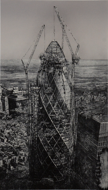 , '30 St Mary Axe (The Gherkin),' 2017, Art Front Gallery
