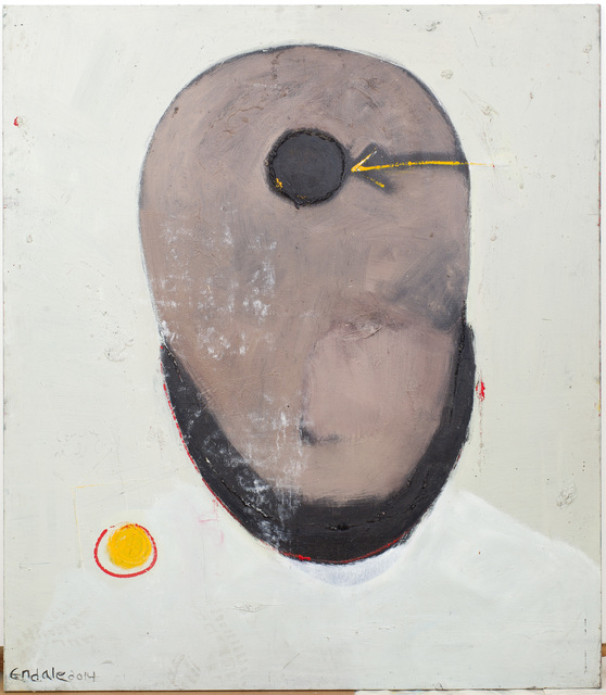 Endale Desalegn, 'Meditative Face II ', 2015, David Krut Projects