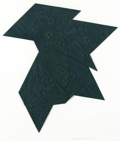 , 'Six Pointed Star,' 1980, Caviar20