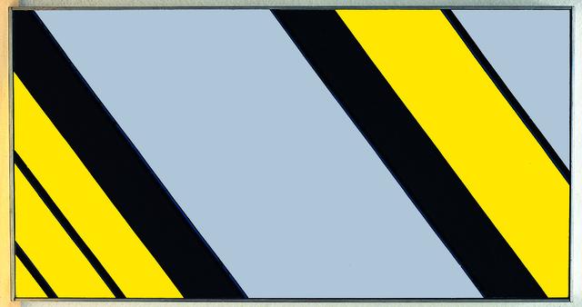 Günter Fruhtrunk, '>>>Dehnung<<<', 1974, Painting, Acrylic on canvas on panel, Lorenzelli arte