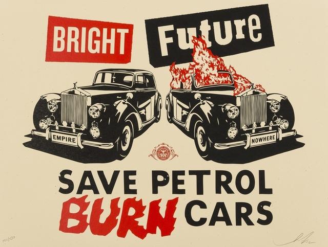 Shepard Fairey, 'Bright Future', 2012, Forum Auctions