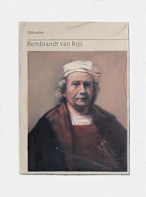 , 'Obituary: Rembrandt van Rijn,' 2018, Charlie Smith London