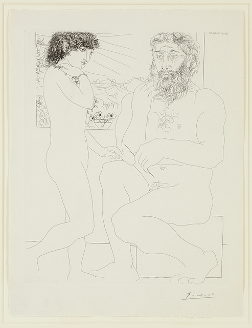 , 'Sculpteur et Modele Debout,' 1933, Alan Cristea Gallery