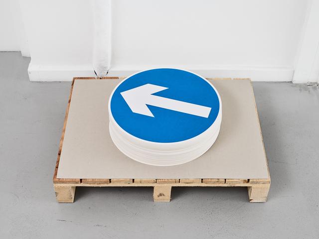 Jonathan Monk, 'Directional Advice', 2017, Centre d'édition contemporaine, Genève