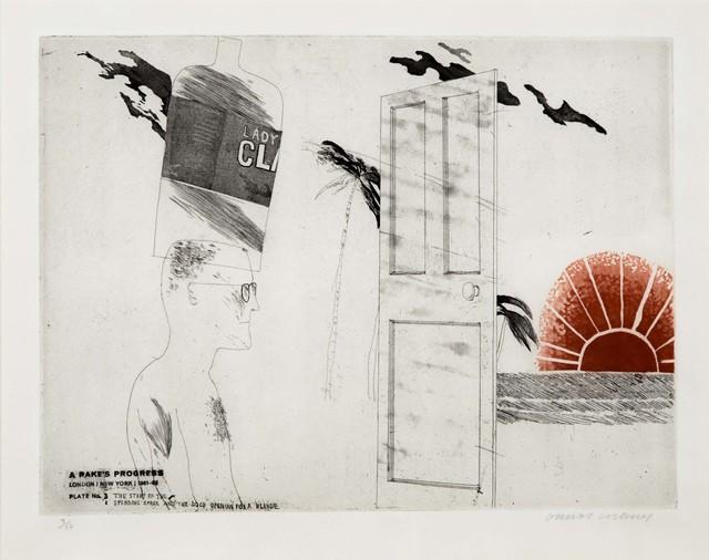 David Hockney, 'The Start of the Spending Spree', 1963, Leslie Sacks Gallery