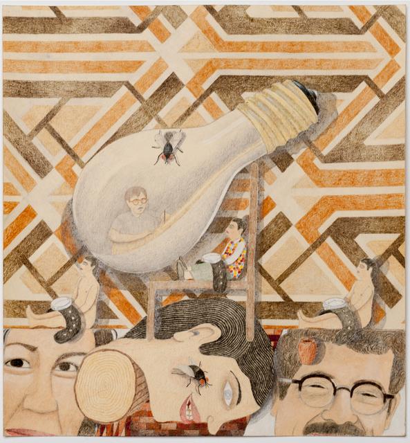 , 'Head Portrait (light bulb),' 2014, P.P.O.W