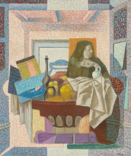 Francis Criss, 'Still Life with Figure', circa 1950, Doyle