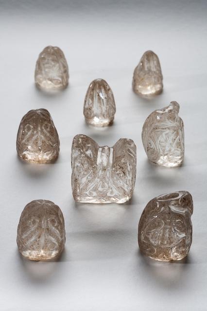 , 'Chess pieces (Piezas de ajedrez),' 10th century, Dallas Museum of Art
