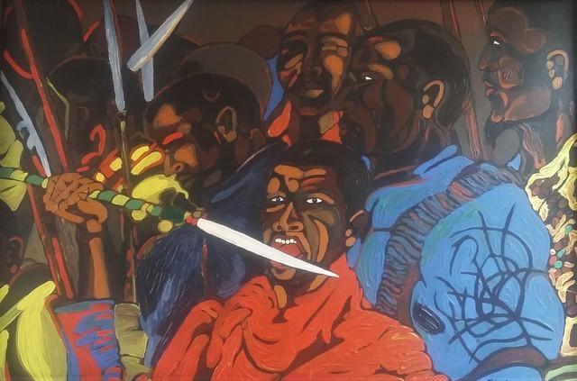 , 'Marikana,' 2016, Yebo Art Gallery