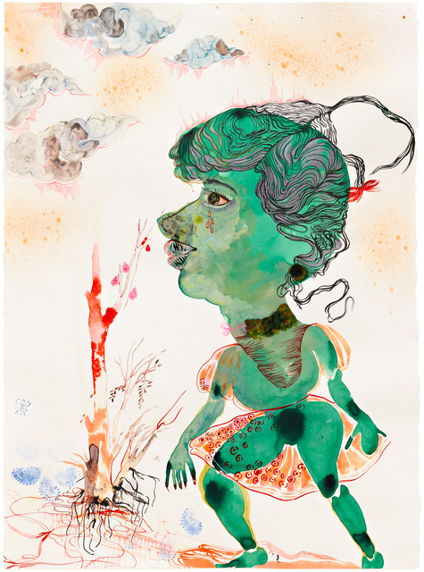 Rina Banerjee, 'Searching for greener pastures and even greener (nicer) people', 2011, Rossi & Rossi
