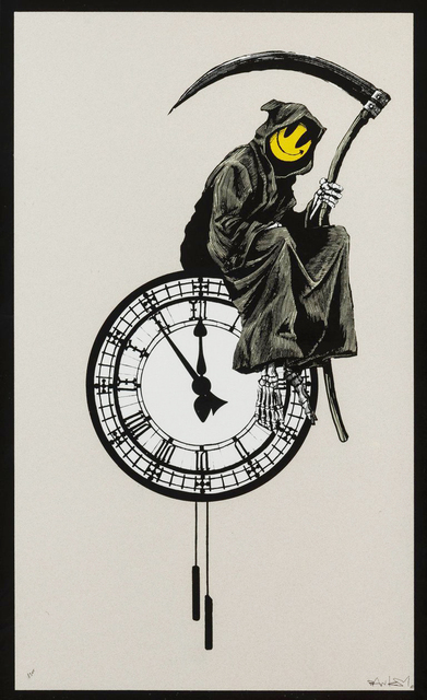 Banksy, 'Grin Reaper - Signed ', 2005, Hang-Up Gallery