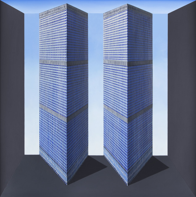 , 'Twin Towers,' 2016, Flowers