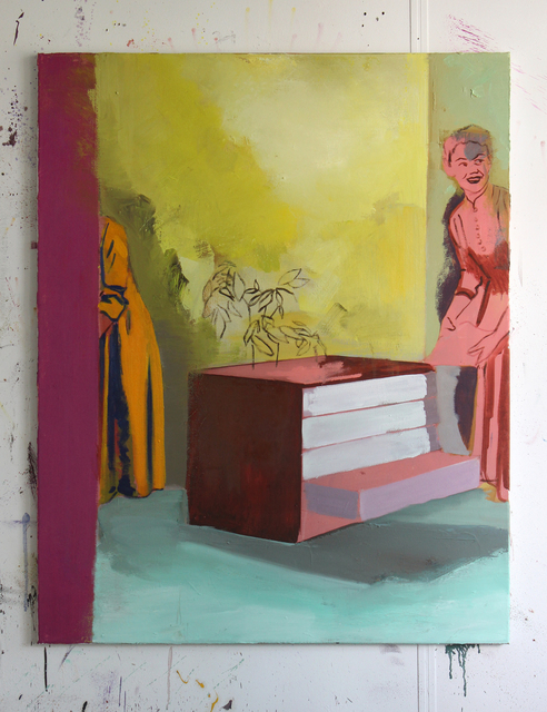 , 'The ghost of AB,' 2015, Galerie Bart