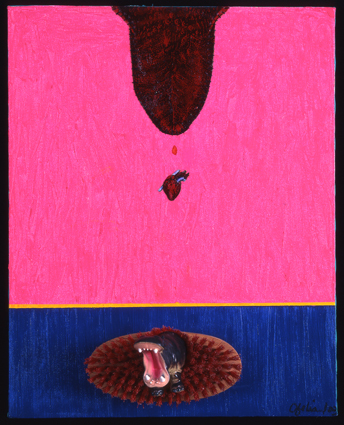 , 'Pouring the heart over an island in turbulence,' 2003, Instituto de Visión